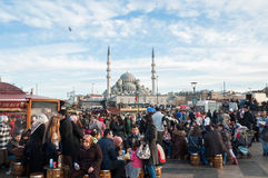 Suleymaniye moské, Istanbul. Fotografering för Bildbyråer