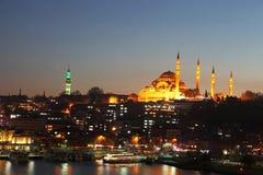 Suleymaniye moské (Suleymaniye Cami) Royaltyfri Foto