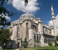 Suleymaniye mosque. Stock Photography