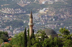 Suleymaniye Mosque in Alanya, Turkey Stock Photo