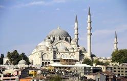 Suleymaniye mosque Stock Images