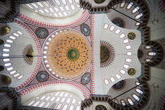Suleymaniye Mosque Ceiling Stock Photos