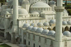 Suleymaniye mosque closeup. Mock-up of Suleymaniye mosque, Istanbul, Turkey Stock Photography
