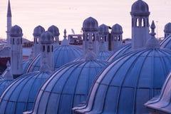 Suleymaniye Mosque domes Stock Image
