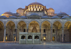Suleymaniye Mosque (Estambul,Turkey) Royalty Free Stock Image