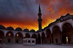 Suleymaniye Mosque (Estambul,Turkey) Stock Image