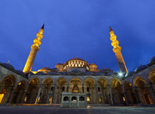 Suleymaniye Mosque (Estambul,Turkey) Royalty Free Stock Photos