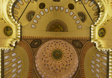 Suleymaniye Mosque (Estambul,Turkey) Royalty Free Stock Photo