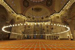 Suleymaniye Mosque (Estambul,Turkey) Stock Photography