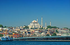 Suleymaniye mosque Stock Photos
