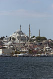 Suleymaniye Mosque from Goldenhorn Stock Photography