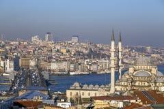Suleymaniye Mosque, Halic, Istanbul Stock Photo