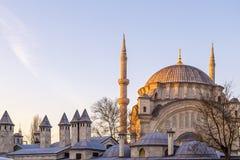Suleymaniye Mosque, Halic, Istanbul Royalty Free Stock Image
