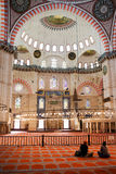 Suleymaniye Mosque Interior Stock Photography