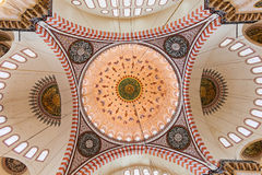 Suleymaniye Mosque interior Royalty Free Stock Images