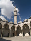 Suleymaniye mosque in Istambul. Turkey royalty free stock image