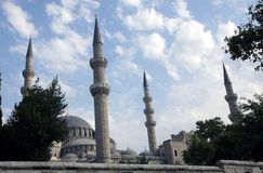 Suleymaniye Mosque, Istanbul Royalty Free Stock Photo