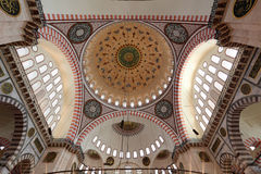 Suleymaniye mosque, Istanbul Stock Images