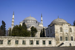 Suleymaniye Mosque in Istanbul Royalty Free Stock Image