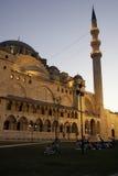 Suleymaniye Mosque in Istanbul. Beautiful Suleymaniye Mosque in Istanbul Royalty Free Stock Photography