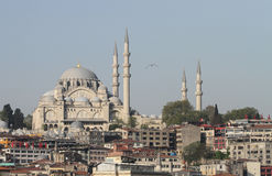 Suleymaniye Mosque in Istanbul City Stock Photography