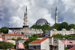 Suleymaniye Mosque in Istanbul Royalty Free Stock Photography