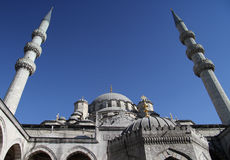 Suleymaniye mosque in Istanbul Royalty Free Stock Images
