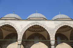 Suleymaniye Mosque in Istanbul Royalty Free Stock Photos