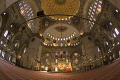 Suleymaniye Mosque - Istanbul - Turkey Royalty Free Stock Images