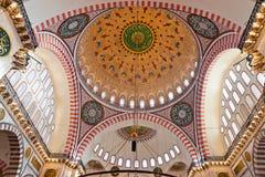 Suleymaniye Mosque , Istanbul, Turkey. Royalty Free Stock Photos
