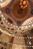 The Suleymaniye Mosque in Istanbul (Turkey) Stock Photos