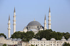 Suleymaniye Mosque, Istanbul, Turkey Stock Photography