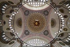 The Suleymaniye Mosque, Istanbul Turkey Royalty Free Stock Image