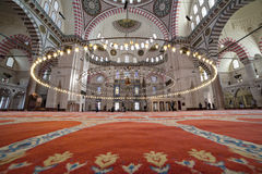 The Suleymaniye Mosque, Istanbul Turkey Royalty Free Stock Photography