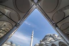 The Suleymaniye Mosque, Istanbul Turkey Royalty Free Stock Images