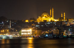 Suleymaniye Mosque. The Suleymaniye Mosque in Istanbul Turkey Royalty Free Stock Image