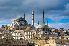 Suleymaniye Mosque in Istanbul Turkey Royalty Free Stock Photography