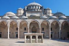 Suleymaniye mosque Royalty Free Stock Photo