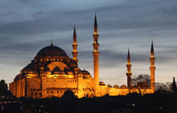 Suleymaniye Mosque in Istanbul, Turkey Royalty Free Stock Image