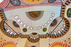 Suleymaniye Mosque in Istanbul Turkey Stock Photography