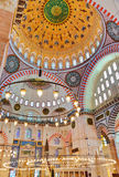 Suleymaniye Mosque in Istanbul Turkey Royalty Free Stock Photos