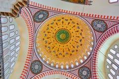 Suleymaniye Mosque in Istanbul Turkey Royalty Free Stock Photo