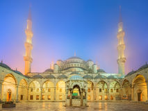 The Suleymaniye Mosque in Istanbul, Turkey Stock Photo