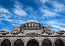 Suleymaniye Mosque in Istanbul, Turkey Stock Photography