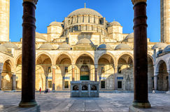 Suleymaniye Mosque in Istanbul, Turkey Royalty Free Stock Images