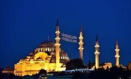Suleymaniye Mosque Istanbul Turkey Royalty Free Stock Photo