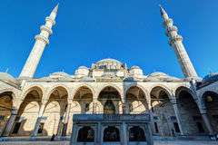 The Suleymaniye Mosque in Istanbul, Turkey Stock Photography