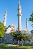 The Suleymaniye Mosque in Istanbul, Turkey Stock Images