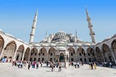 The Suleymaniye Mosque. ISTANBUL, TURKEY - SEPTEMBER 07, 2014: The Suleymaniye Mosque on September 07, 2014 in Istanbul, Turkey Royalty Free Stock Images