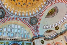 Suleymaniye Mosque in Istanbul Turkey. Architecture religion background Stock Image